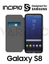 Incipio S8 Clear Back Folio Case For Samsung Galaxy S8 Flip Cover Card Wallet