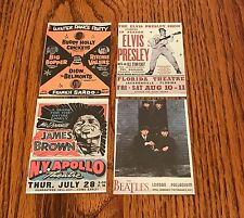 Rock Poster Card Set Limited Edition 1991