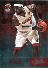 2012-13 Absolute Miami Heat Basketball Card #3 LeBron James