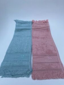 Hermes hand towels set Blue x Pink Baby Wash Clothes