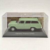 IXO 1:43 Chevrolet Veraneio 1965 Light Green Diecast Models Toys Collection Car