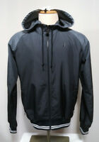 Nike Men's Black Long Sleeve Zipper OMBRE Hood Mesh Lined Jacket Size L