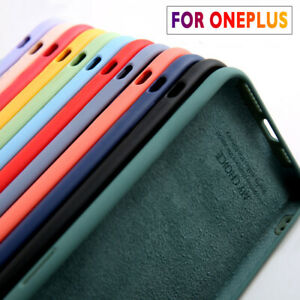 Phone Case For OnePlus 9 8 Pro 7T 7 Pro 6 6T 5T Nord Soft Liquid Silicone Cover