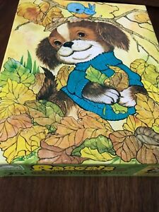 Golden Jigsaw Puzzle Rascals Puppy Dog New Sealed 1982 NOS Age 3 - 7 Western  R2
