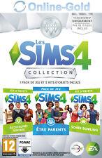 Les Sims 4 Être parents + Accessoires Vintage + Soirée Bowling EA Origin PC - FR