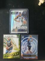 Karl-Anthony Towns Lot 2018-19 Panini Prizm Silver Parallel, Optic