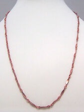 "Copper Neck Chain Necklace 24""  Wheeler Healing ArthritisPain cn 008"