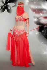 Bollywood Red Medium/Large Adult Costume (Bin W13/S34)