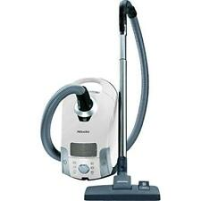 Pure Suction Canister Vacuum Cleaner Lotus White Stainless Steel Telescopic Tube