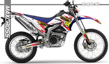 YAMAHA WR250R WR250X ALL YEARS MAXCROSS GRAPHICS KIT DECALS STICKERS FULL KIT-1