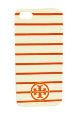 TORY   BURCH Orange/Beige Stripes  iPhone 5/5s Case Msrp $80.00