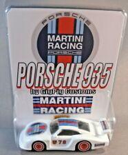 PORSCHE 935 MARTINI RACING Custom GigPig Customs Hot Wheels 911 Carrera Turbo S