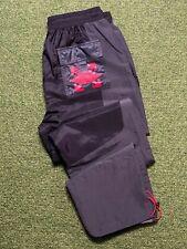Nike Air Jordan X Off White tejido Pantalón Negro Rojo Medio Bnwt CV0543-010