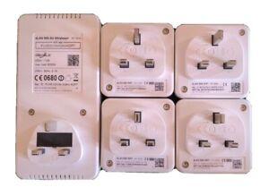 Complete devolo dLAN 500 WiFi Powerline Adapter Kit - 6 items