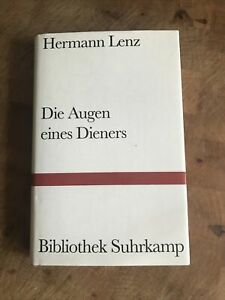 Hermann Lenz - Die Augen Eines Dieners / Bibliothek Suhrkamp