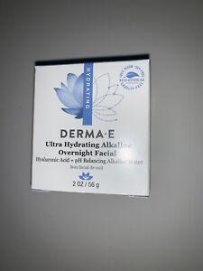 NEW Derma E Ultra Hydrating Alkaline Overnight Facial 2oz