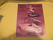 Guyette & Schmidt North American Decoys Auction Catalog Nov 8 & 9, 1995 G/Vg