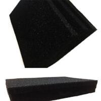 Aktiviert Kohlenstoff Imprägniert Schaum Filter Blatt 20mm Dick (40 x 30 cm) WS6
