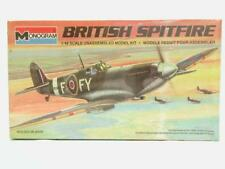 1/48 Revell Monogram British Spitfire Mk IX RAF Plastic Scale Model Kit Sealed