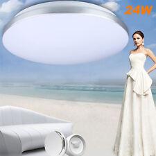 24W LED Ceiling Light Round Flush Mount Fixture Lighting Home Kitchen Room Lamp