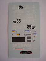 DECALS KIT 1/43 NISSAN R88C LE MANS 1988 DECALS
