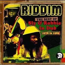 SLY & ROBBIE Riddim The Best Of In Dub 1978 to 1985 2CD NEW Dub Reggae Trojan