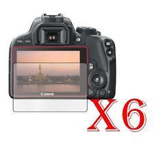 6 PZ PELLICOLA PROTEZIONE DISPLAY PER Canon EOS 100D PROTEGGI SCHERMO LCD