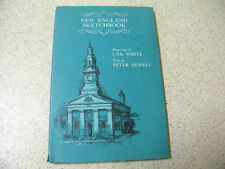 NEW ENGLAND SKETCHBOOK unk white & peter newell HBDJ 1970 1st