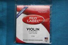 Super Sensitive Red Label Soft Violin Strings, 2106