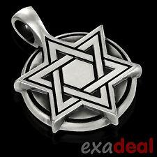 "BICO Pendant - E193 STAR OF DAVID MEDALLION ""Helping Needy"" Kabbalah Jewish NEW"