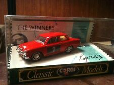 Ford Cortina GT Red Roger Clark Corgi  RAC Rallies / Winners Limited Ed