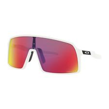 9800c38c4d82 Authentic Oakley Sutro Sunglasses Oo9406 06 Matte White Violet Prizm Lens  37mm