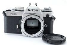 [Excellent+++] Nikon FM3A 35mm SLR Film Camera Silver Body #63