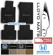 Honda Civic 4pc Velourtex Carpet Floor Mat Set - Choose Color & Logo