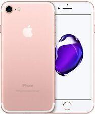 iPhone 7 UNLOCKED 32GB, 128GB, 256GB -- Black, Silver, Rose Gold, Gold - Grade B