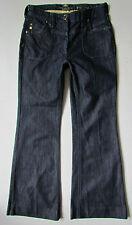 WOMEN'S River Island   Bootcut   DARK BLUE Denim Jeans UK 8S W26 L29.5