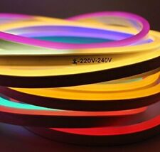 NEON LED Flexible Strip Light with Two PIN Power Plug for Diwali Christmas New