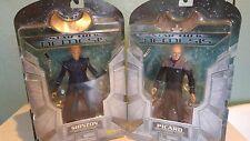 Lot of 2 Star Trek Nemesis Action Figures