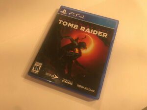 Shadow Of The Tomb Raider Playstation4 game Played Once PS4