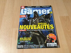 MAGAZINE JEUX VIDEOS - VIDEO GAMER 19 - JUILLET 2014 - WATCH DOGS PHANTOM PAIN