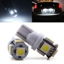 2000Pcs White T10 W5W 168 194 921 2825 LED 5050 5SMD Wedge Light Bulbs 12V