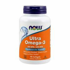 Now Foods Ultra Omega-3 Fish Oil 90 Softgels Free Shipment