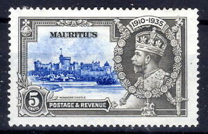 Mauritius Silver Jublee item 1935 MH  KGV [M310821-5]