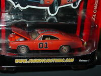 Johnny Lightning DUKES of HAZZARD 1969 DODGE CHARGER GENERAL LEE -Dirty Version