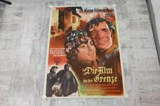 * Originales Filmplakat Die Alm an der Grenze Ludwig Ganghofer um 1950