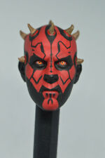 "1/6 Scale Darth Maul Head Sculpt Carved Model F 12"" Male figure toys Hobbies"