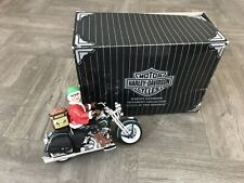 "Genuine Harley Davidson 1999 Mrs Claus On Motorcycle "" Queen Of The Highway """