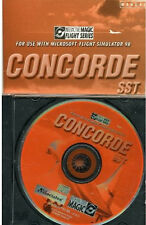 Concorde SST by Interactive Magic  Add-On for Microsoft Flight Sim 98