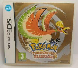 Pokemon Versione Oro HeartGold -Nintendo ds PAL ITA-NO Pokéwalker nero 2 argento