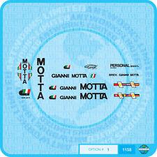 Gianni Motta - Bicycle  Transfers - Stickers - Set 1